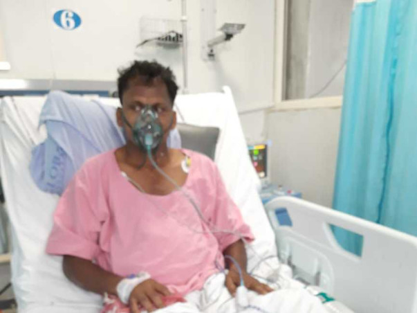 My Father Is Suffering From Corona Virus. We Need Your Help To Provide