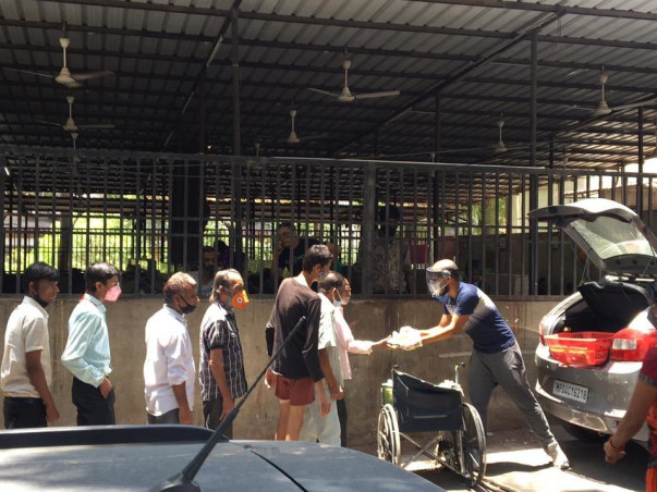 Free Meal To Covid-19 Patients In Bhopal