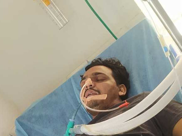Please Help Bajiba Shaik Fight Covid-19 & Lung Infection