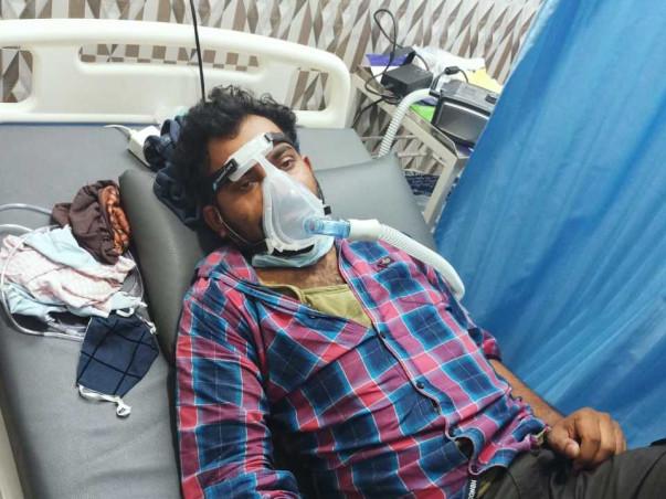 Help Sandeep Vangala battle Covid