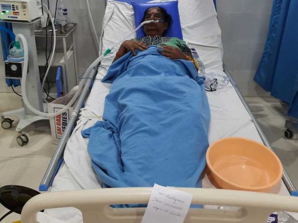 Help My Grand Mother Manikayamma age 65 To Recover From Covid 19
