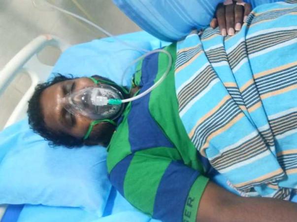 Help Ramesh fight covid poor patient