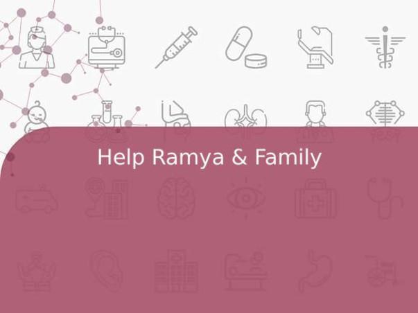 Help Ramya & Family