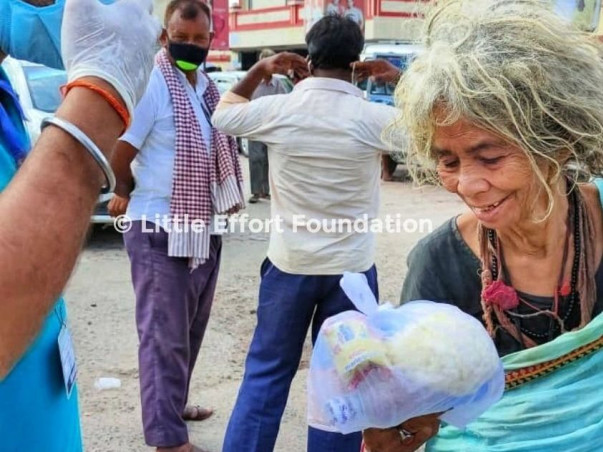 To Provide Ration To Poor Families/Daily Wage Earners Affected By Lock