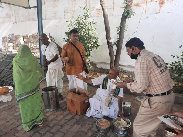 ISKCON Food For Life Help to Feed Hungry people