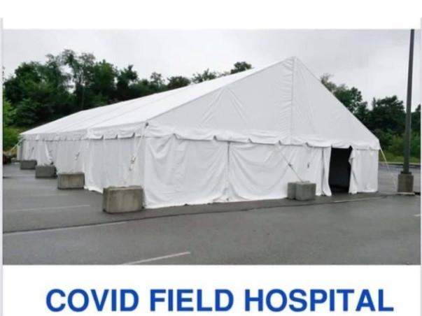 Free covid treatment center