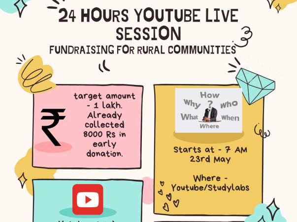 24 Hour FundRaising LiveStream for Rural Communities