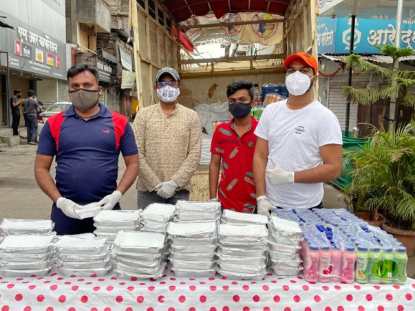 Serving Meals during COVID