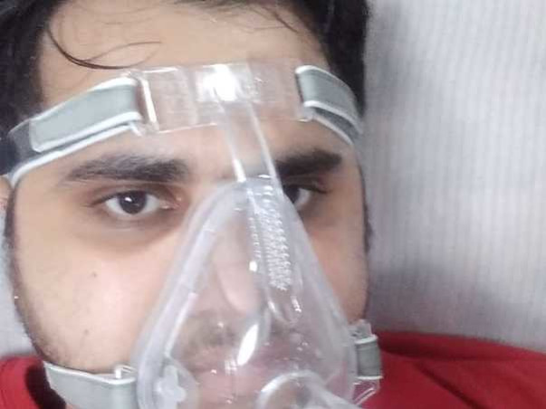 26 years old Prince Verma needs your help fight Lungs treatment infected due to Covid-19