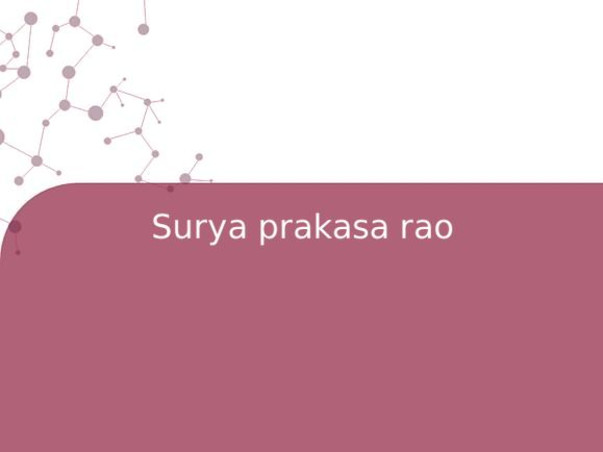 Surya prakasa rao