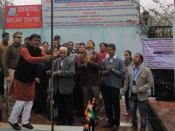 Enable Uma Sanjeevani Hospital to fight Covid