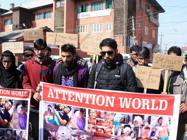 Help Blind People In Srinagar Through Our Organization