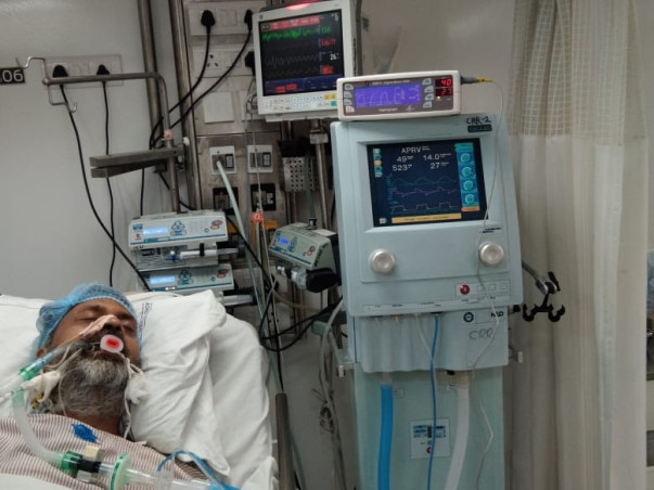 Help Nitin And His Family Recover From Covid