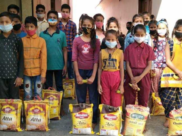 Help feed the poor in holy town of Rishikesh
