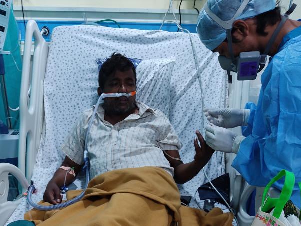 Support Srinivasa Chary Recover From Covid 19
