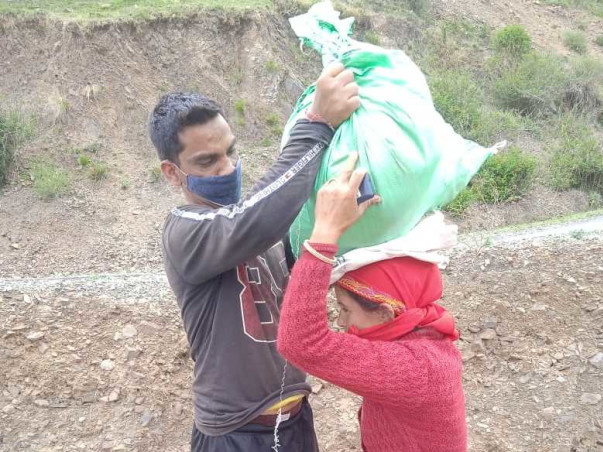 Help the Villagers of The Queen of Hills fight covid