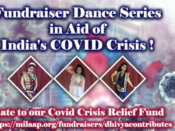 Fundraiser Dance Series in aid of India's COVID Crisis