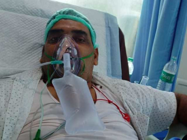 HELP MOHAMMED FAROOQ RECOVER FROM COVID