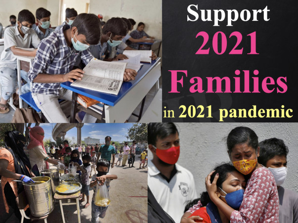 """Support """"2021 Families"""" In Corona Pandemic 2021"""