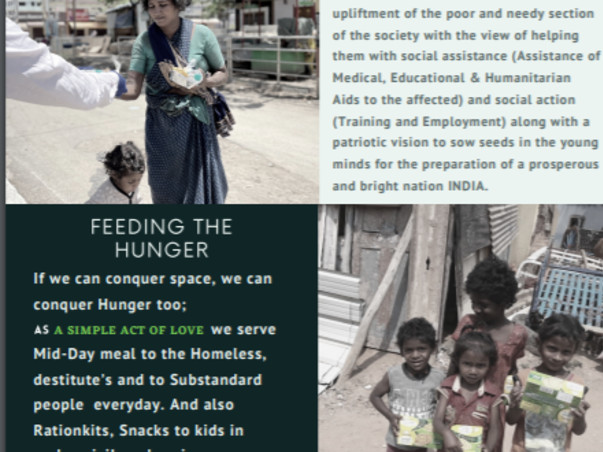 Help The Needy And Poor In COVID