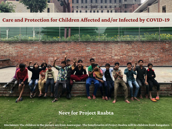 Neev for Project Raabta - Covid Care Centres for Children