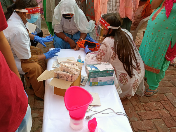 Help Us Provide Medicines, Ration kits, Sanitary Pads during COVID