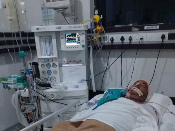 Help My Father Fight Brain Blood Clot Surgery