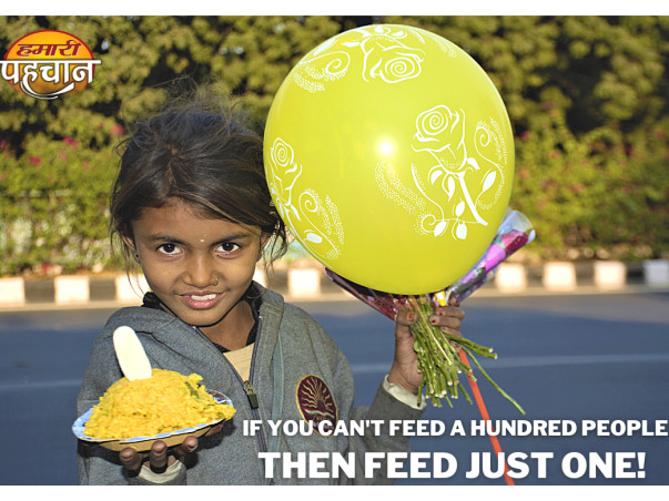Help The Underprivileged In Combating HUNGER!