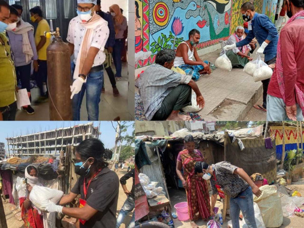 Help the poor falling to devastating pandemic @CovidHelpCentre,Bihar