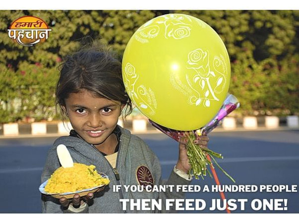 Feed The Underprivileged Who Are Sleeping Without A Meal!