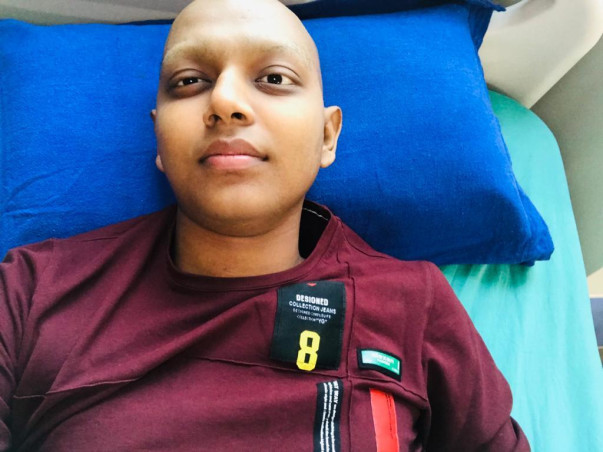 Help Ankit To Fight Bone Cancer
