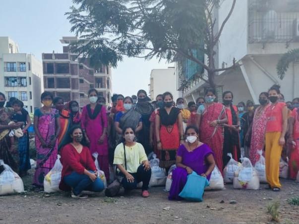 Ration Kits and Oxygen cylinders for needy families-NaviMumbai/Mumbai