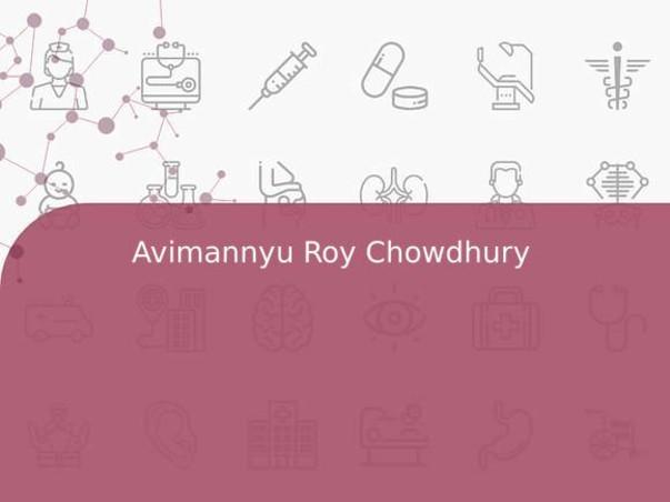 Avimannyu Roy Chowdhury