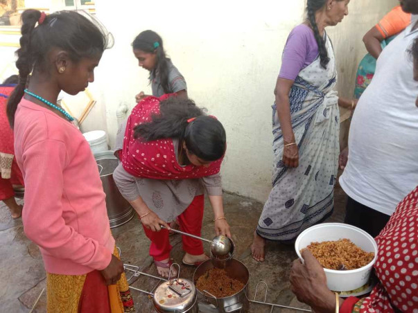 Covid Relief-Trupthi Free Meals for the Unsupported Elderly