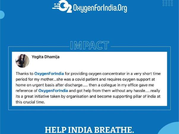 Support OxygenForIndia