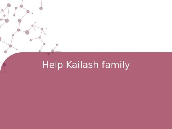 Help Kailash family