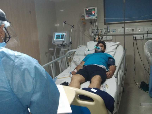 35 years old Shobhit Mathur needs your help fight Lungs Damage after Covid