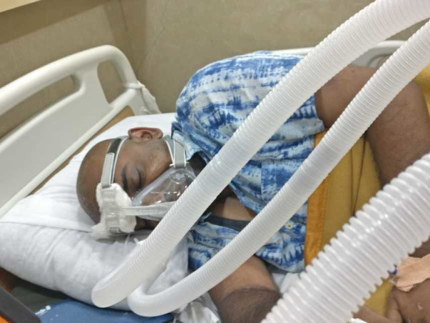 Help Vijayant In His Lungs Recovery