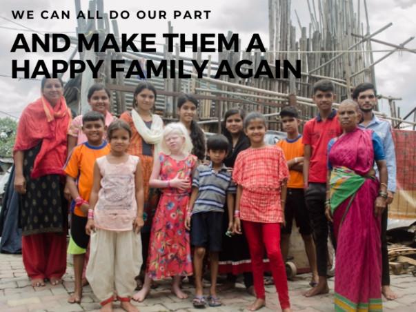 Help warrior aaji secure a roof for her grandchildren!