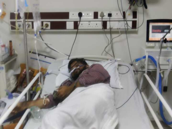 Offer A Helping Hand To Support Gopinadh Reddy's Treatment