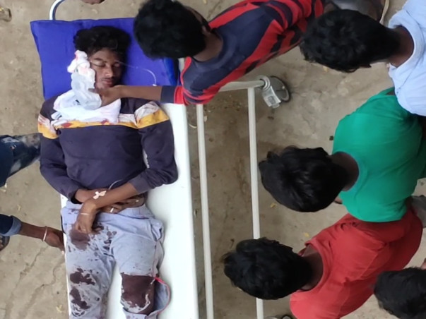 Help Vinay To Recover From Accidental Injuries