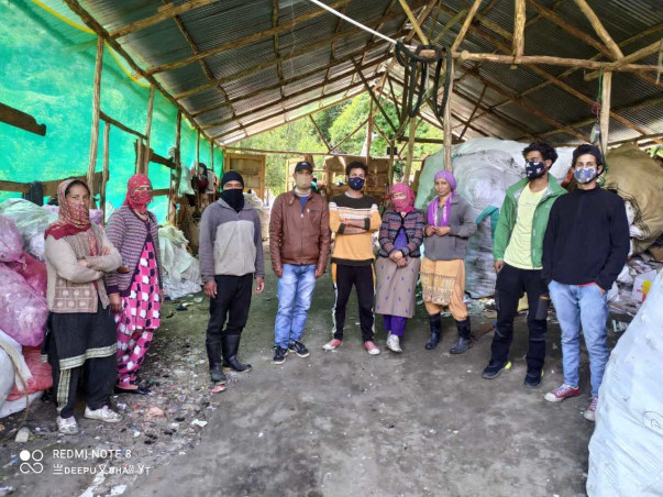 Iana&Cheta from Himachal Dreams Of making Himalayan Village LitterFree