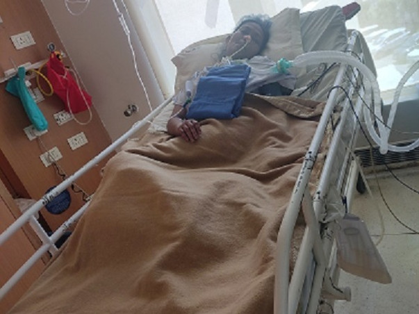Help my sister fight Covid-Pneumonia, Severe Lungs Infection