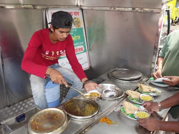 Amrut Bhoj - Food For Needy, Project By Rc Akola East