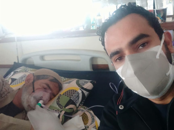 Help Mr. Katroo Bashir Fight Covid-19