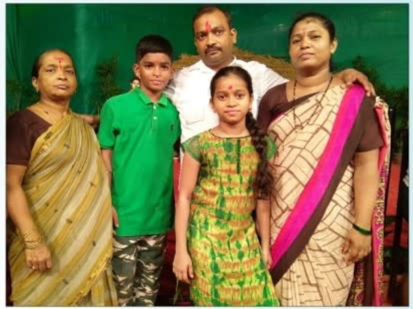 Support For Vinod's Family Due To His Untimely Demise