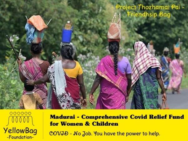 Madurai - Comprehensive Covid Relief Fund for Women & Children