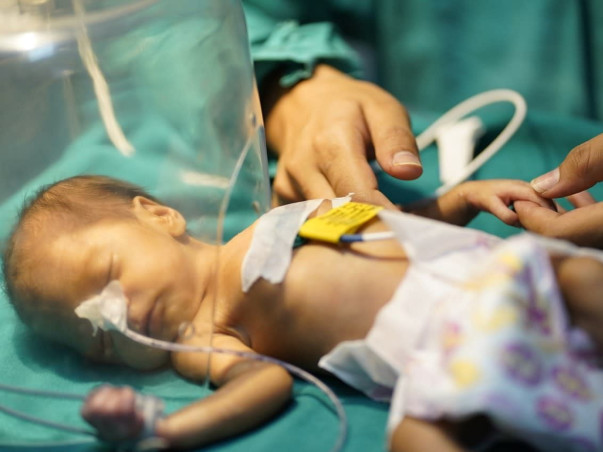 This Baby Has Been In The NICU Since Birth, Only You Can Save Her Now