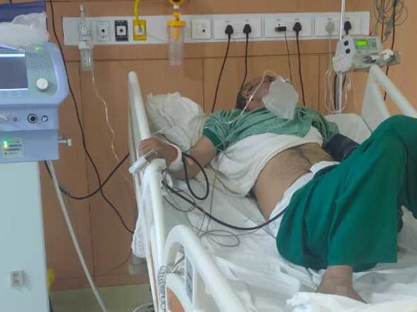 Help My Father To Fight From Covid 19 & Lung Infection