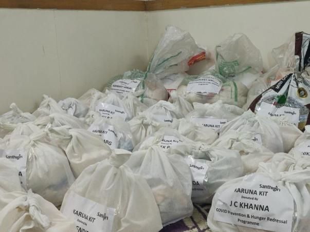 HELP SANTHIGIRI FEED AND SHEILD POOR COMMUNITIES IN DELHI